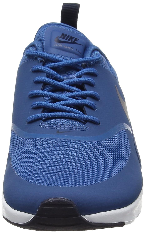 Nike Air Max Thea 599409 Damen Laufschuhe, Blau (Industrial Blueobsidian white), 36.5
