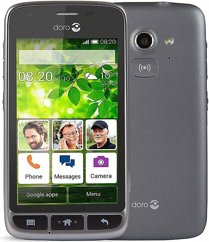 Doro Liberto 820 Mini (Desbloqueado) Negro -3 G, Android teléfono ...