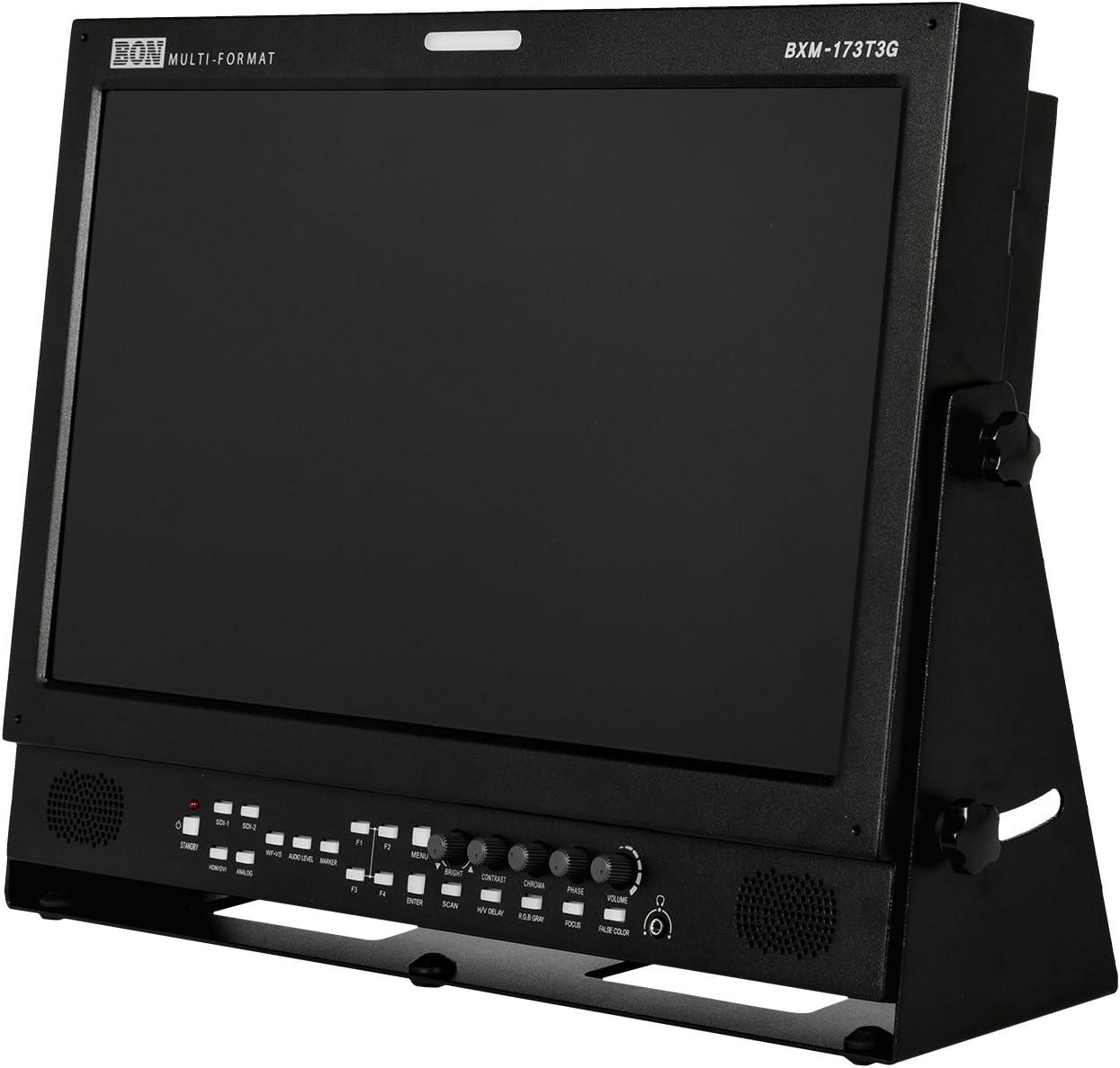 BXM-173T3G Bon Ikan 17.3 3G//HD//SD-SDI /& HDMI LCD Studio Broadcast /& Production Monitor with PIP