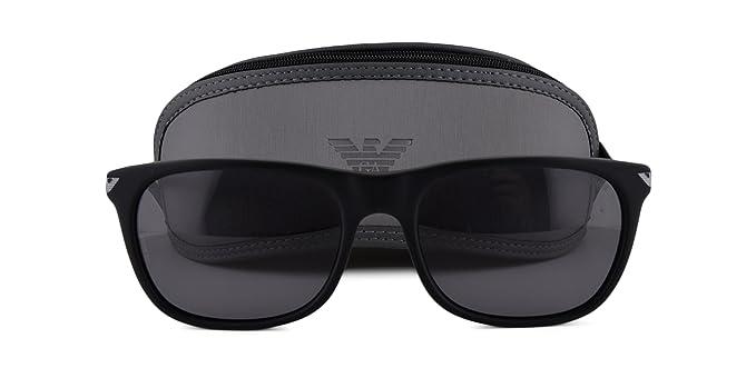 Amazon.com: Emporio Armani EA 4056 – Gafas de sol Negro w ...