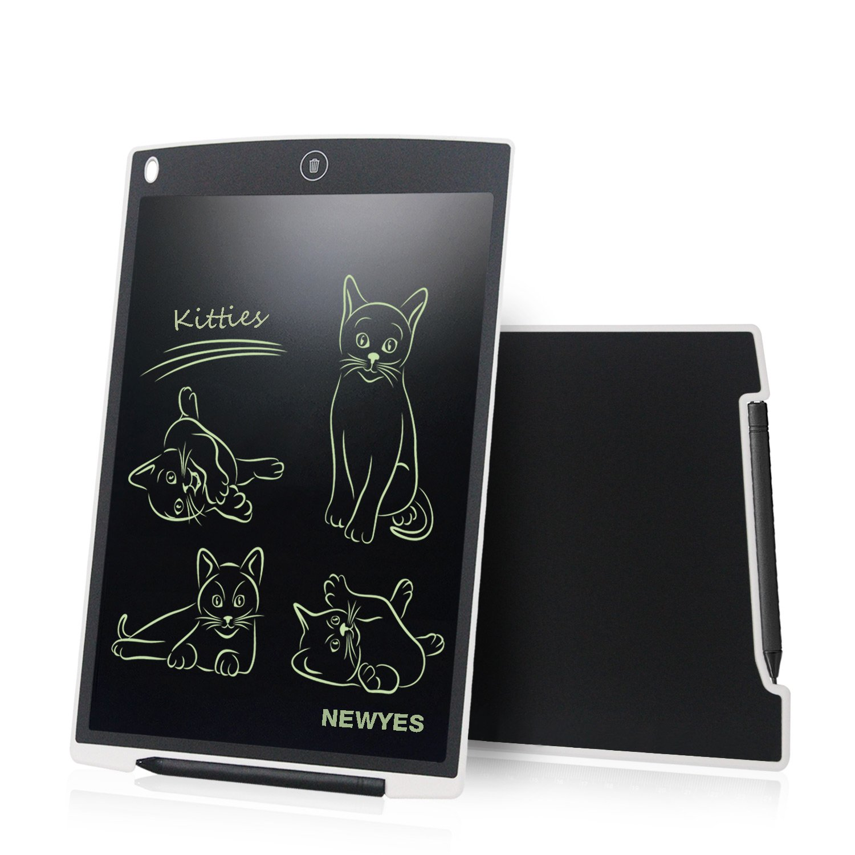 12 Pollici di Lenghezza Vari Colori Bianca NEWYES NYWT120 Tavoletta LCD da Disegno con Stilo