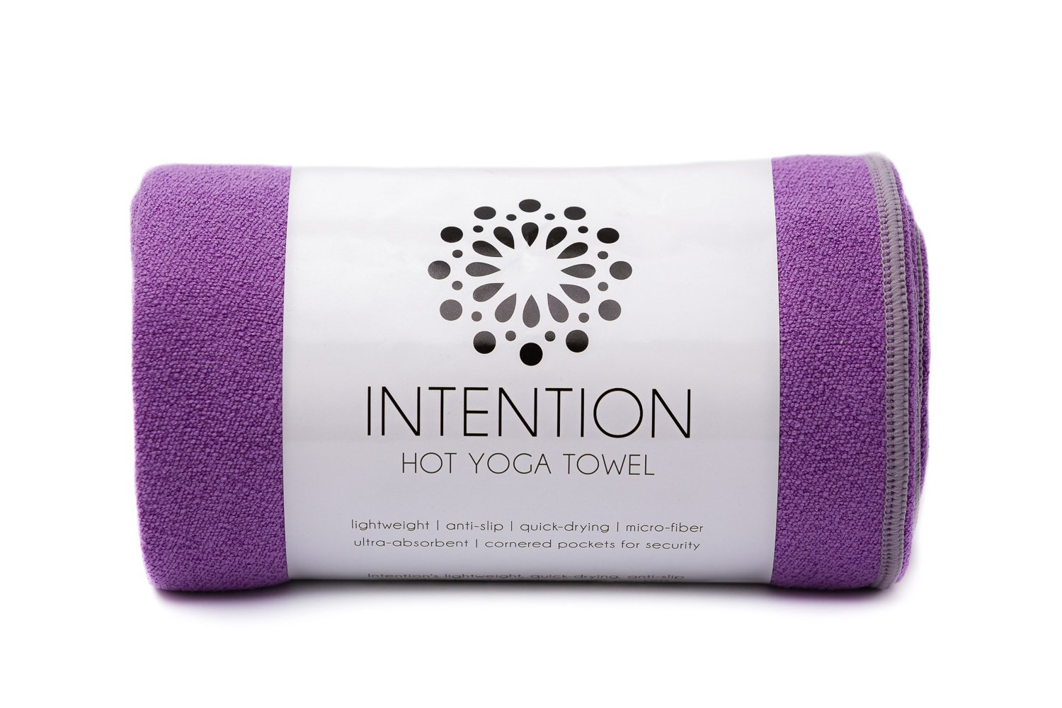 Intention Non-Slip Hot Yoga Towel