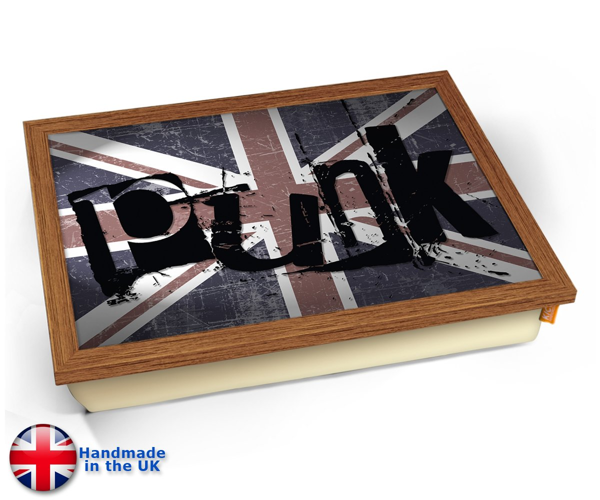 KICO Punk Union Jack Rebel Rock - Bandeja para cojín: Amazon ...