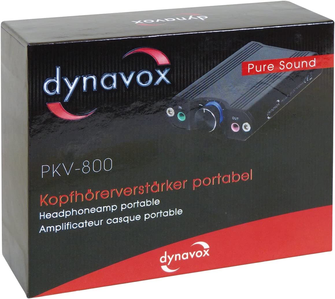 DynaVox 207452 PKV-800 Amplificateur de Casque Portable Noir
