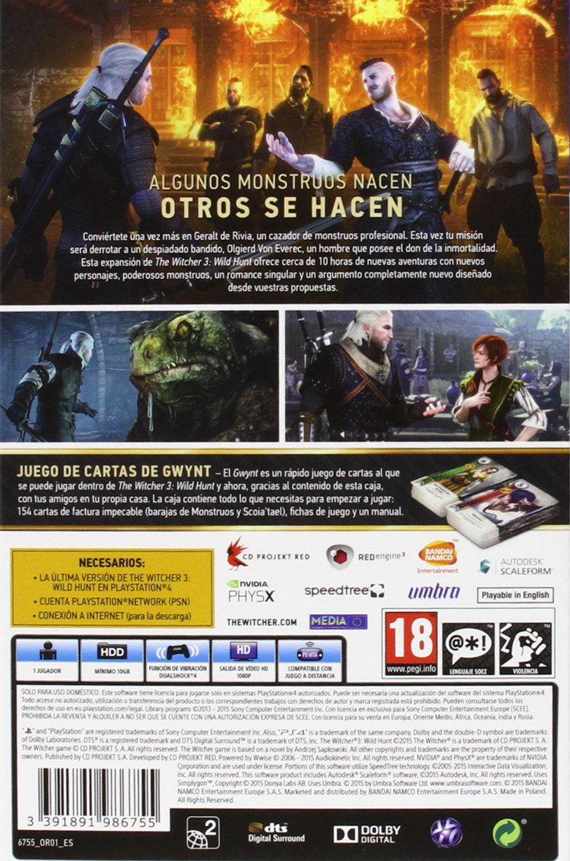 The Witcher 3: Heart of Stone - Expansion Pack: Amazon.es ...