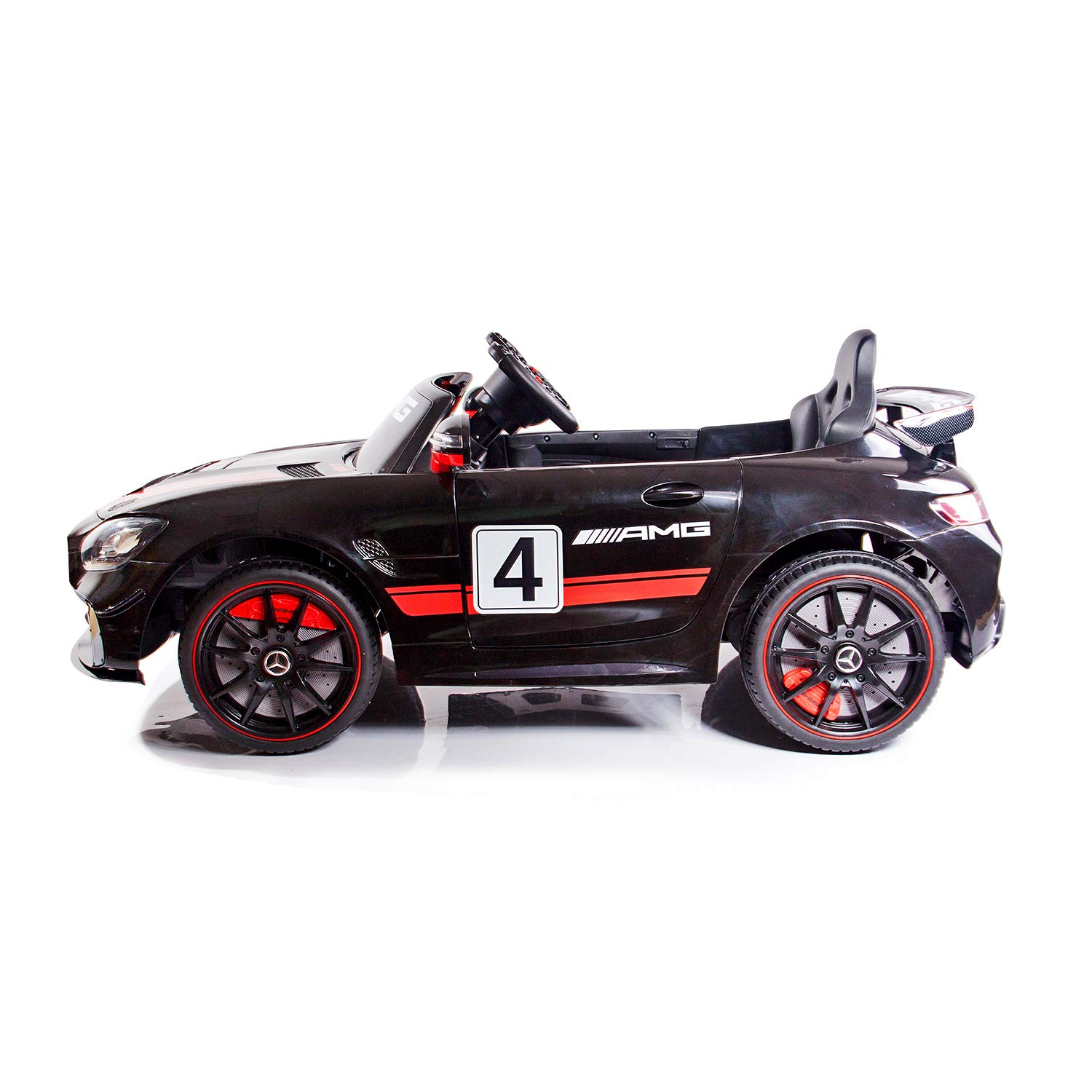 Amazon.com: AuAg Kids Mercedes Benz AMG Big Electric Ride On ...