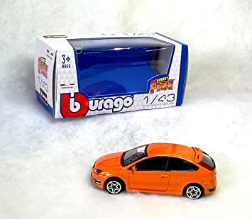 New Burago 1/43 Diecast Model Car - Orange Ford Focus ST 3dr 2.5 Turbo  sc 1 st  Amazon UK & New Burago 1/43 Diecast Model Car - Orange Ford Focus ST 3dr 2.5 ... markmcfarlin.com