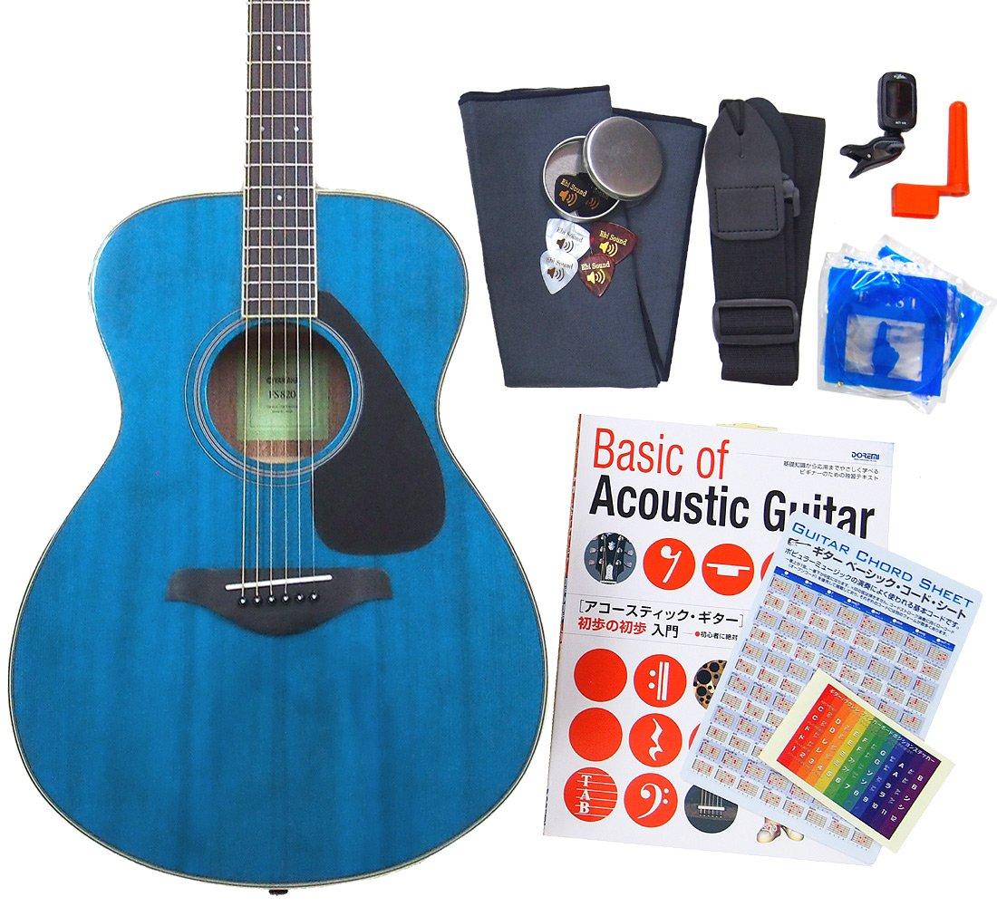 ヤマハ ギター アコースティックギター 初心者 入門 12点 セット YAMAHA FS820 TQ [98765] 【検品後発送で安心】  TQ(ターコイズ) B01DSXBBRG