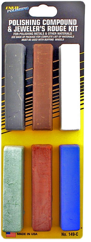 Enkay 6 pc. Polishing Compound Kit
