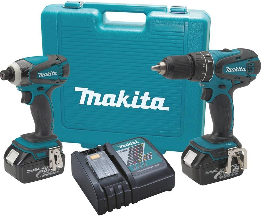 Makita XT211 18V LXT Lithium-Ion Cordless Combo Kit, 2-Piece Discontinued by Manufacturer