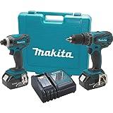 Makita XT211 18V LXT Lithium-Ion Cordless Combo Kit, 2-Piece
