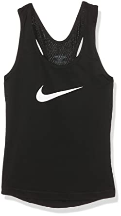 release info on abb46 c6bb3 Nike Kids Girls  Pro Cool Training Tank Top (Little Big Kids), Black