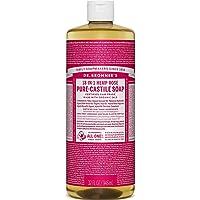 Dr. Bronner's Pure Castile Liquid Soap Rose 946mL