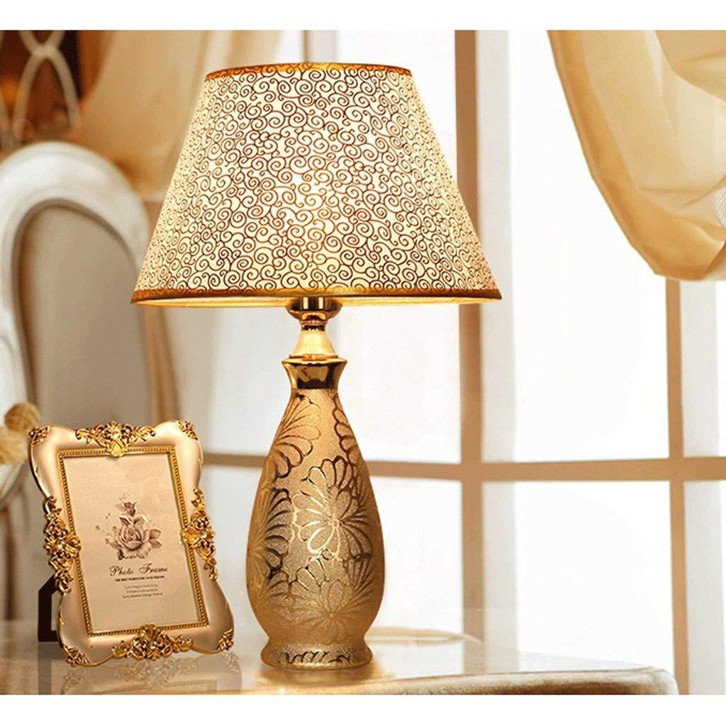 AME Tischlampe europäischen Keramik Tischlampe, Tischlampe, Tischlampe, Moderne minimalistischen Schlafzimmer Bett, warmes Wohnzimmer, H46Cm  W16Cm B07J9RMLCH |  Neuer Markt  7af60b
