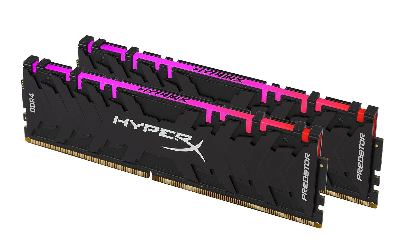 3200MHz CL16 DIMM XMP Kit  2x16GB HyperX HX432C16PB3AK2//32 Predator DDR4  32GB RGB