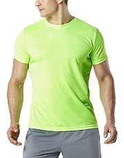 Tesla Men & Women's HyperDri Short Sleeve Athletic T-Shirt Quick Dry Sports Top MTS30 MTS40