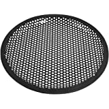 Universal 8 Inch Subwoofer Speaker Black Metal Waffle Cover Guard Grill