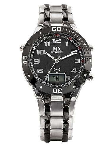 Meister Anker 000639680000 - Reloj de pulsera hombre, color Bicolor: Amazon.es: Relojes