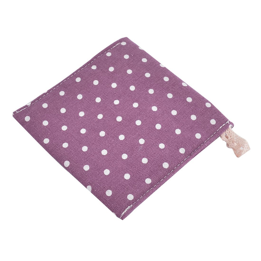 Amazon.com: eDealMax lino Puntos Botón del Modelo de cierre de la servilleta sanitaria Bolsa del bolso del cojín DE 2 piezas púrpura: Home & Kitchen