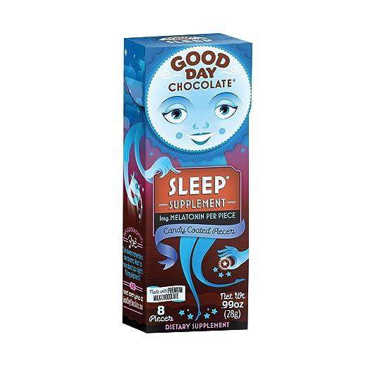 Good Day Chocolate Supplement Sleep Chocolate, 0.99 oz