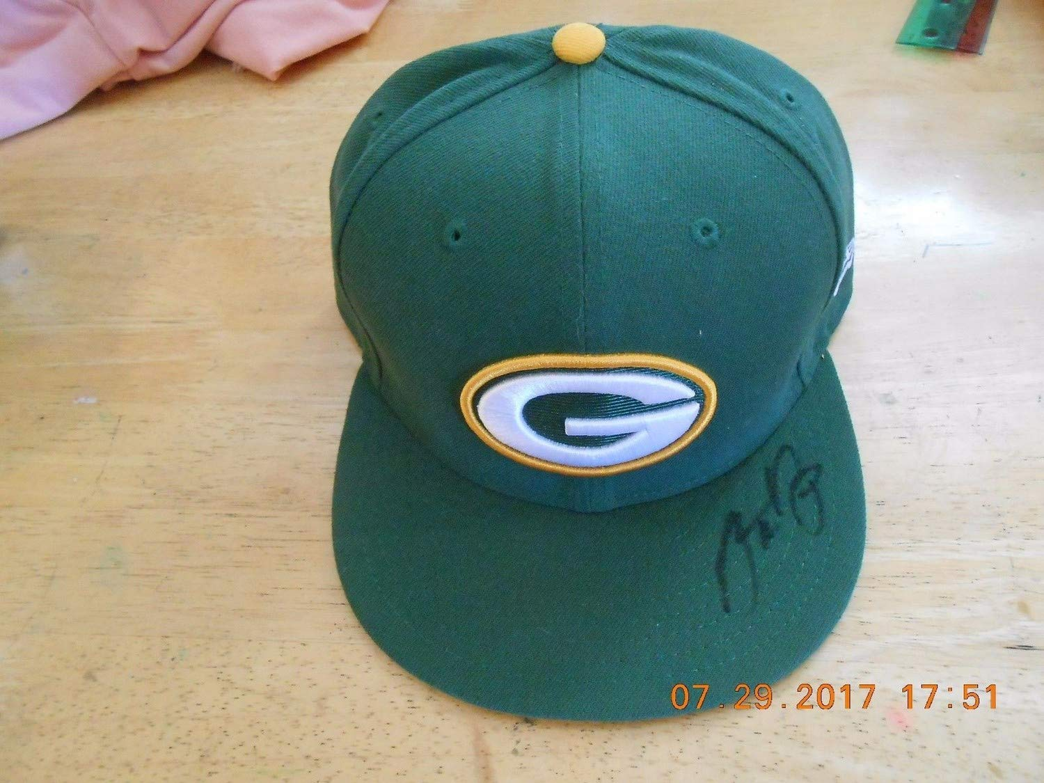Aaron Rodgers Autograph Autographed Signed Hat JSA In The Presence Green Bay Packers