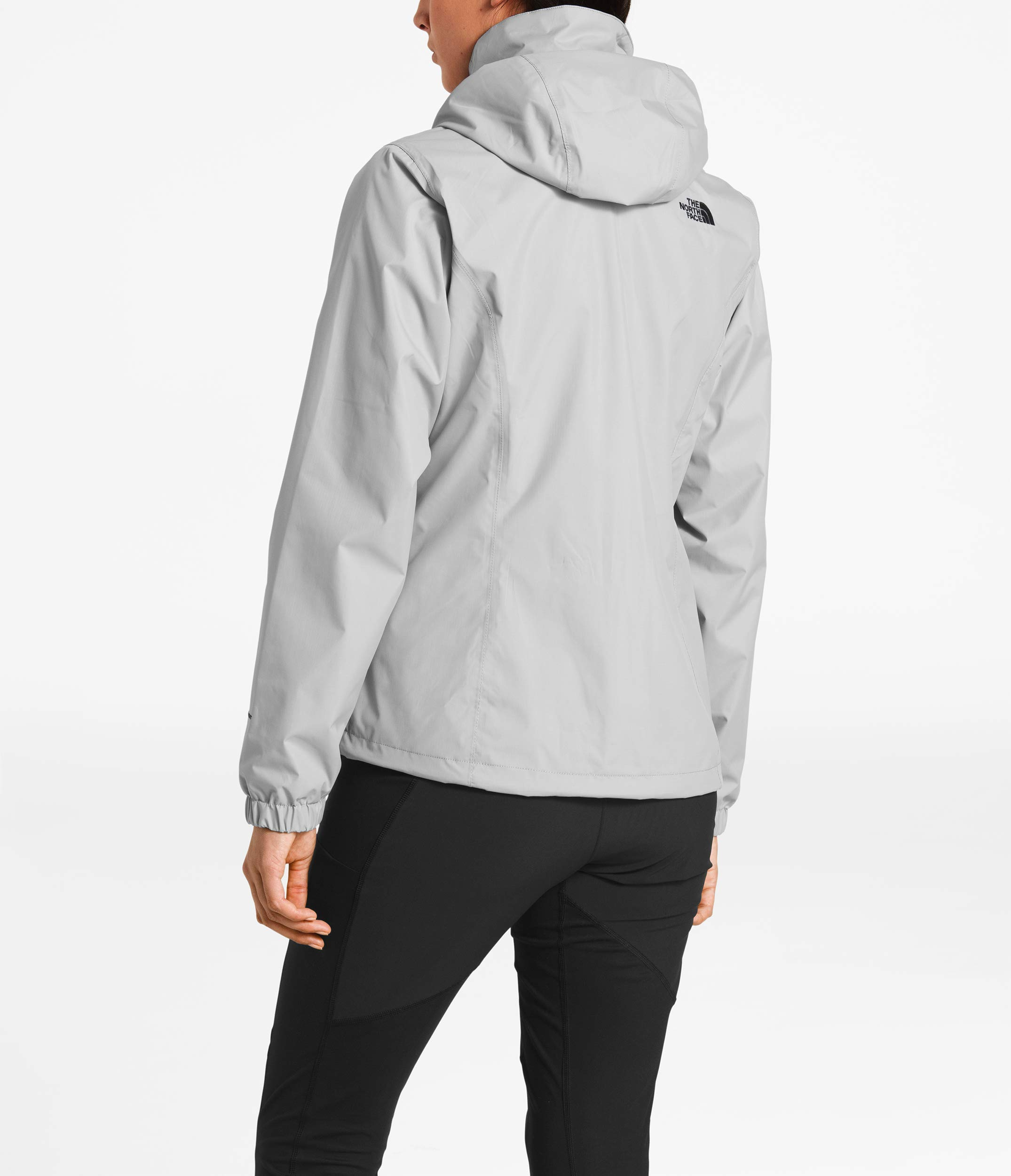The North Face Women Resolve 2 Jacket - Mid Grey & TNF Black - M by The North Face (Image #4)