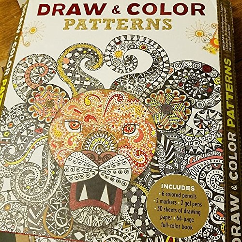Download Draw & Color Patterns pdf