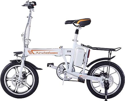 Airwheel R5 Bicicleta Eléctrica Plegable (Blanco): Amazon.es ...