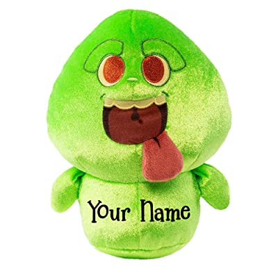 Funko Personalized Supercute Plushies Slimer Ghost Plush Stuffed Toy with Custom Name: Toys & Games