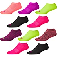 Avia Women's No-Show Athletic Low Cut Socks (10 Pack)