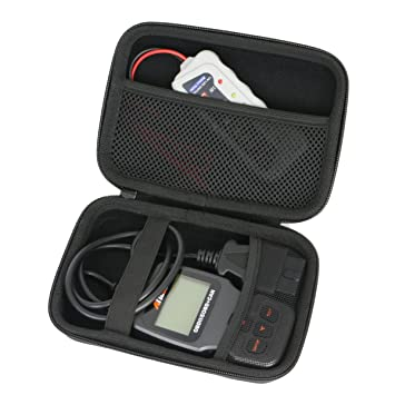 Khanka para Ancel AD310 AD410 OBD II Lector de Código de Coche Vehículo Automotriz OBD2 Escáner Herramienta de Análisis de Diagnóstico EVA Funda ...