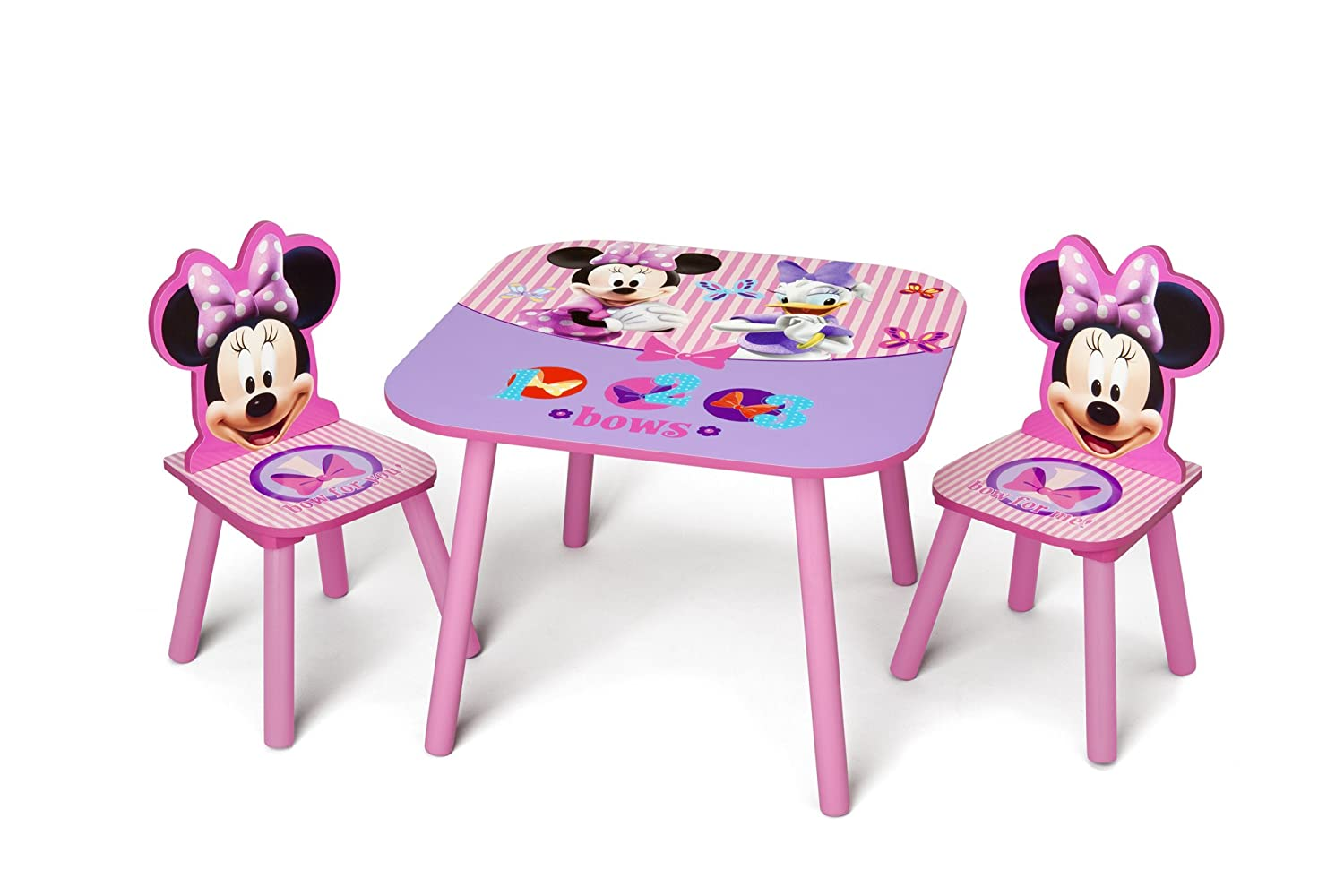 sc 1 st  Amazon.com & Amazon.com: Delta Children Table \u0026 Chair Set Disney Minnie Mouse: Baby