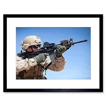 Amazon Com The Art Stop War Military Army Soldier Gun Rifle