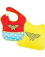 Bumkins DC Comics SuperBib with Cape, Wonder Woman (6-24 Months)