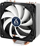 Arctic ACFRE00028A Freezer 33 – Semi passive Tower CPU cooler for Intel 115X/2011-3 and AMD AM4 with 120 mm PWM Fan, Silent high performance cooler – Grey/Black