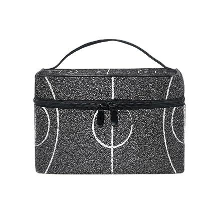 COOSUN Bolso cosmético cancha de baloncesto de la calle lienzo ...