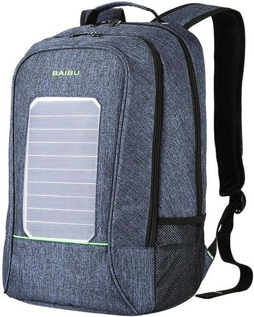 BAIBU Casual Fashion Backpack Anti theft External USB Charge 16 Inch Laptop Bag