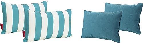 Christopher Knight Home Coronado Outdoor Water Resistant Rectangular Throw Pillow