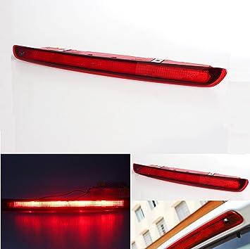 UK 3rd Tailgate High Mount Level Rear 24 LED Brake Stop Light Red Color Light