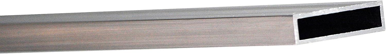 Tube rectangulaire aluminium 6060t6/mm 20/x 10/x 1,5/longueur = 0/m