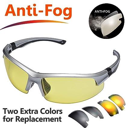 Amazon.com: SAFEYEAR Gafas de seguridad antiniebla – [3 ...