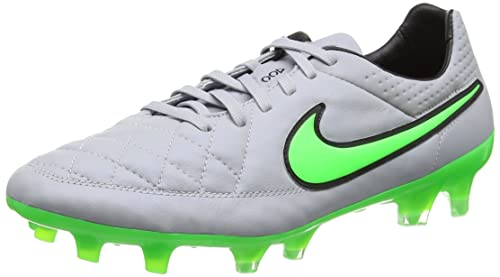 new style 5ea41 a13a6 Nike Tiempo Legend V Firm Ground [Wolf Grey/Green Strike]