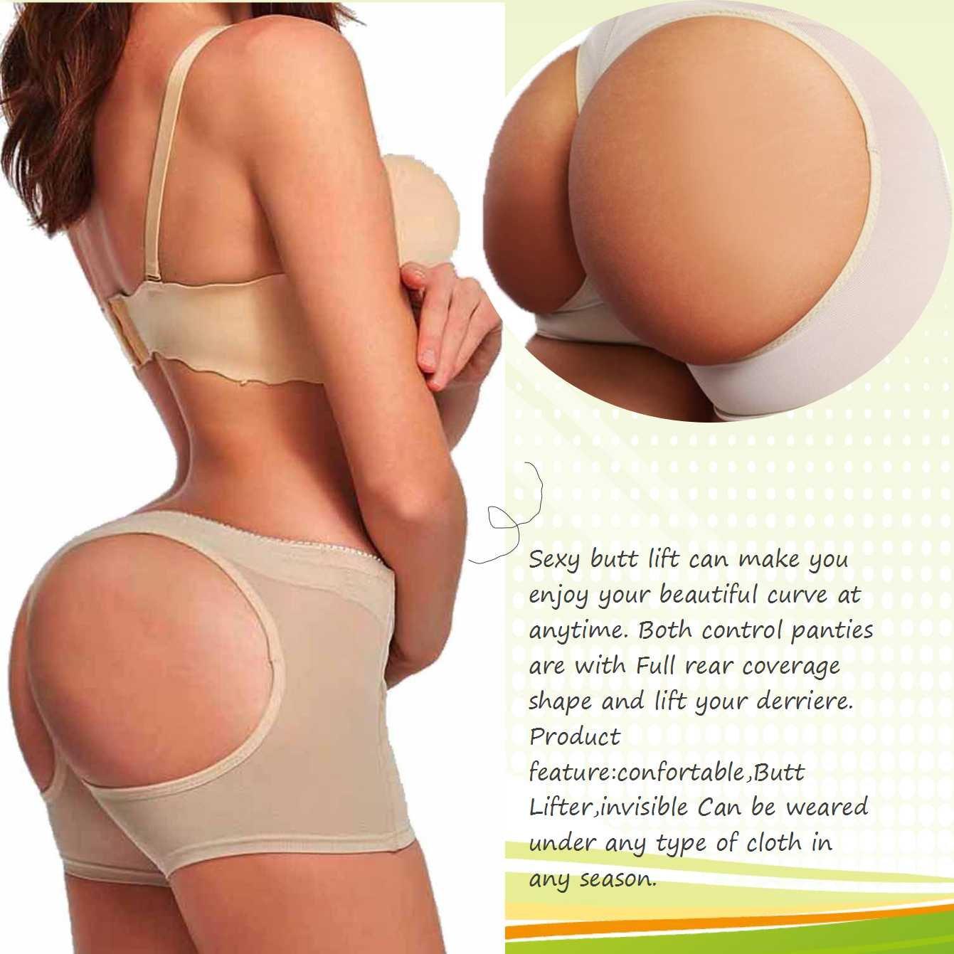 63a2260d9 LANFEI Women s Butt Lifter Panties Shapewear Boy Shorts Enhancer Shaper  Panty at Amazon Women s Clothing store