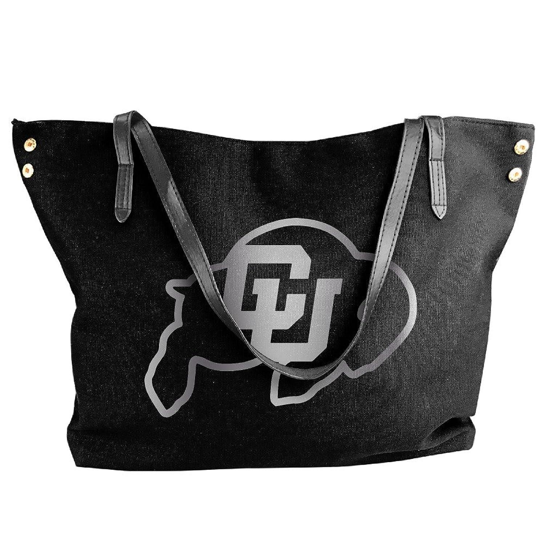 Colorado Buffaloes Platinum Logo Handbag Shoulder Bag For Women
