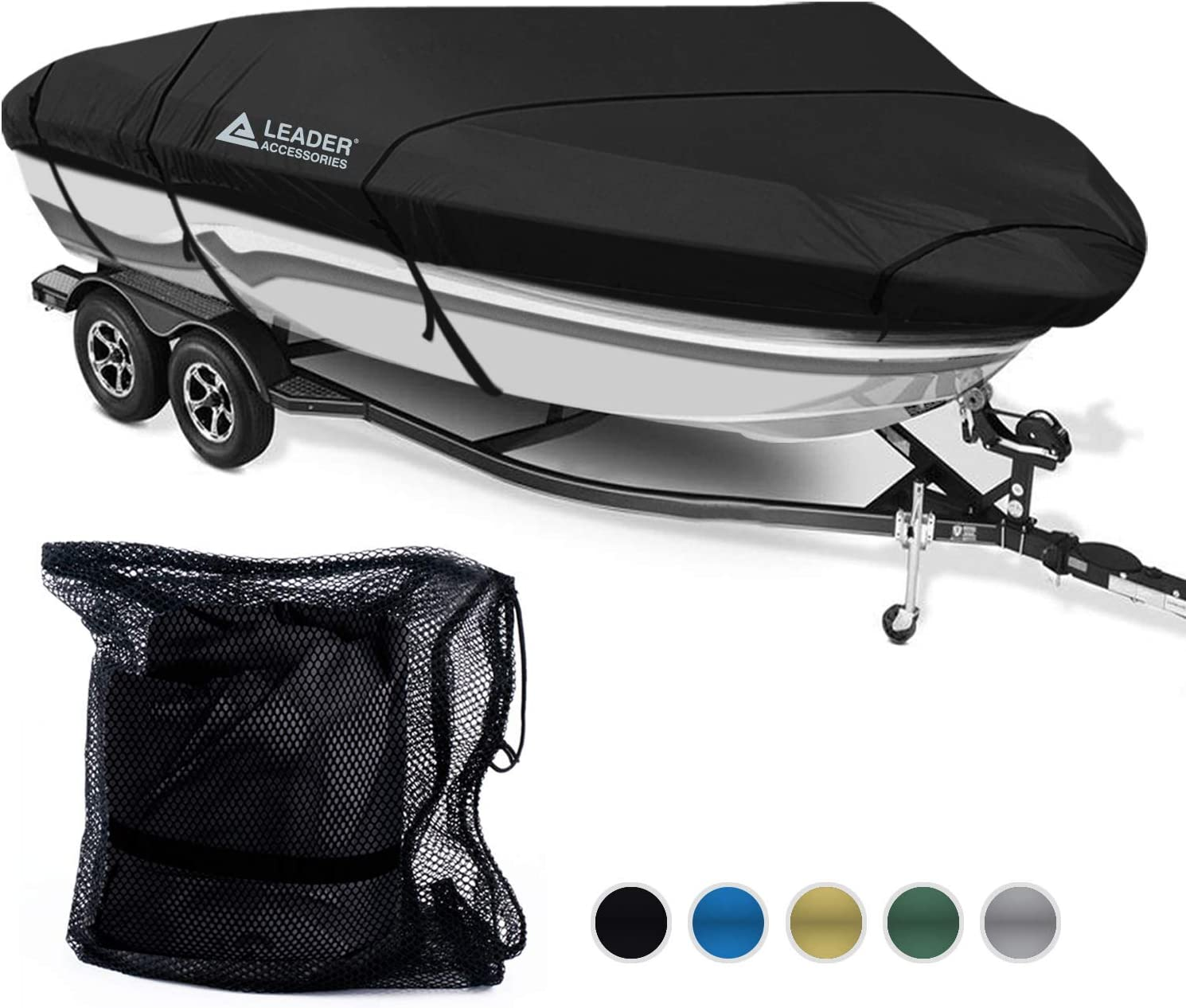 Boat Full Outboard Engine Motor Cover Fit 20-30HP All Weather Protection 210D