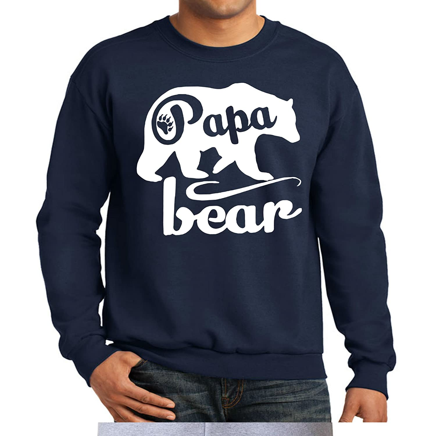 Papa Bear Crewneck Sweatshirt Father's Day Shirt Father Day Gift