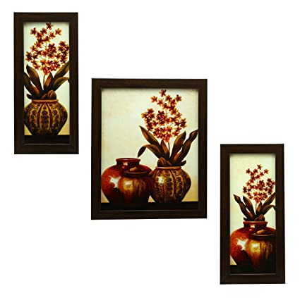 Buy 3 Piece Set of Framed Wall Hanging Art Online at Low Prices in ...