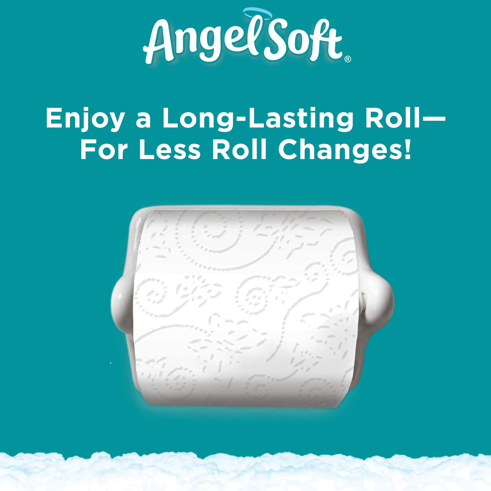 ANGEL SOFT Toilet Paper Bath Tissue, 36 Huge Rolls, 360+ 2-Ply Sheets Per Roll by Angel Soft (Image #4)