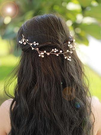 Wedding Head Piece Bridal Hair Accessory Bridal Headpiece Gold Leaf Vine Bridal Hair Vine