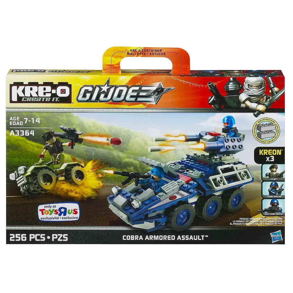 Kre-O GI Joe Cobra Armored Assault A3364 USA 0653569847984